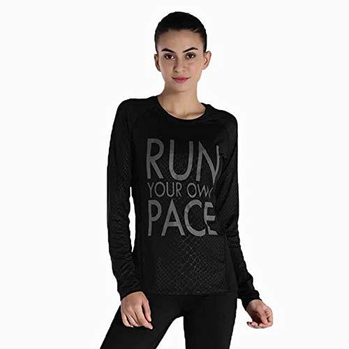 J-tumia t-shirt da allenamento da allenamento per palestra (colore : nero, dimensione : xl)