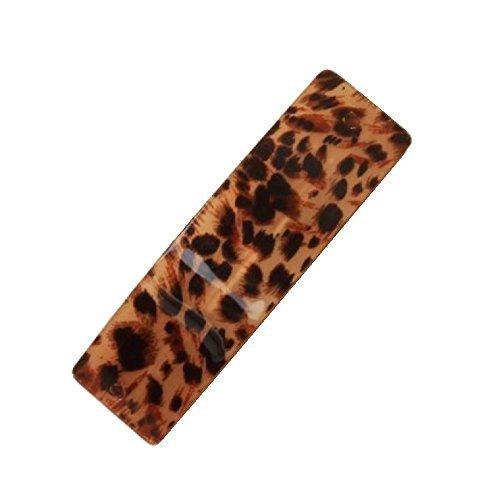 Barrette à Cheveux Imprimé léopard 9 cm