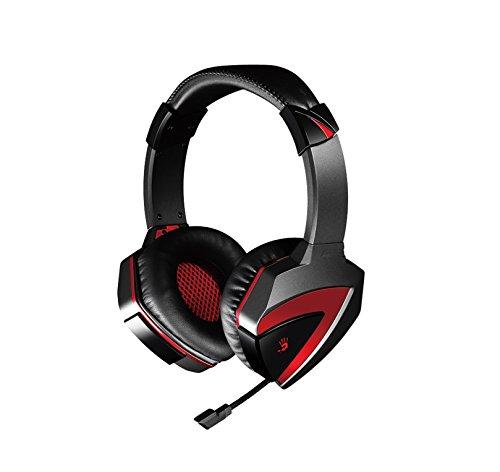 A4Tech G500 A4 Kopfhörer mit Mikrofon Gaming-headset rot-schwarz 3,5-mm-Klinkenstecker (1/8 Zoll)