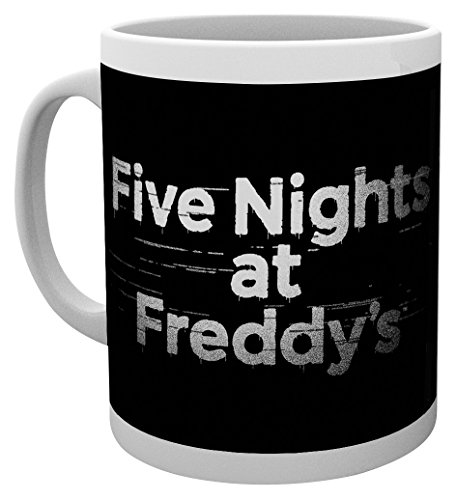 GB Eye LTD, Five Nights at Freddys, Logo, Mug
