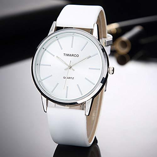 WLFPEG Beobachten Mode Frauen Uhren minimalistischen Casual weißes Leder Damen Armbanduhr einfaches Kleid weibliche quarzuhr Frauen Weiße Leder