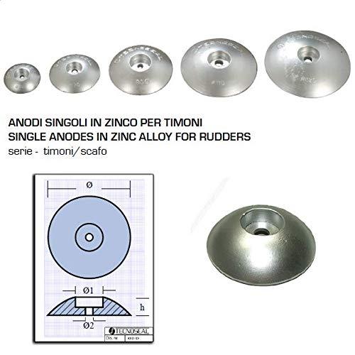 Tecnoseal 00103 Ruder/Ruder, Zink, 110 mm -