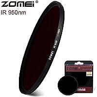 Flycoo Zomei IR 950nm - Filtro infrarrojos de cristal para Canon Nikon Sony Fuji etc DSRL SRL
