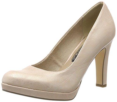 Tamaris 22426, Zapatos de Tacón para Mujer, Rosa (Rose Metallic 952), 37 EU