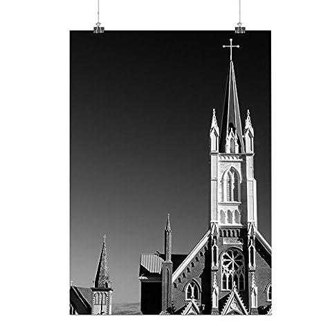 catholique Église Religion Matte/Glacé Affiche A2 (60cm x 42cm) |