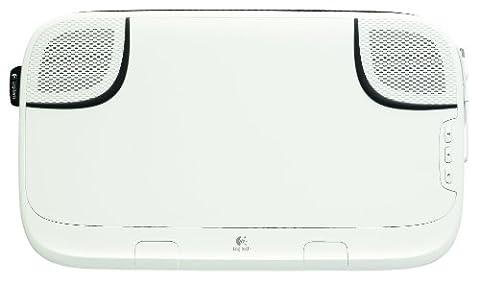 Logitech Speaker Lapdesk N550 Support d'ordinateur portable Haut-parleurs Blanc