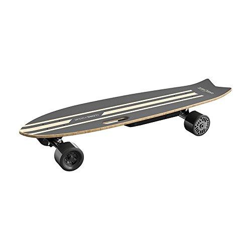 iWatSkate iLongRocket Longboard électrique, Noir