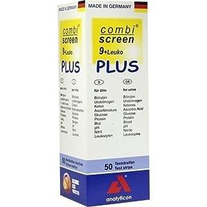 COMBISCREEN 9+Leuko Plus Teststreifen von ANALYTICON BIOTECH.AG