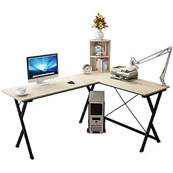 Soges Scrivania per ufficio computer scrivania angolare Tavolo per ...