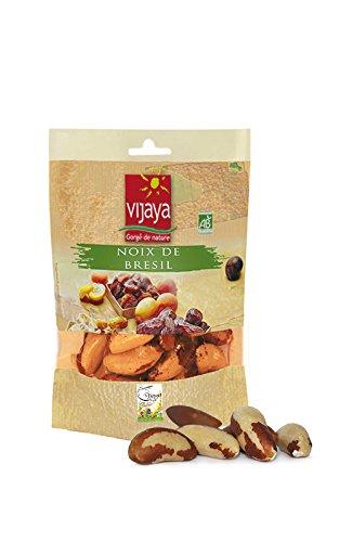 Vijaya Noix du Brésil VIJAYA - Bio - 2 Sachets de 125g