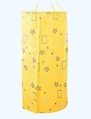 CR Tende da doccia tende da doccia Bagno Circolare Asciugatura veloce ispessimento Isolamento conto vasca impermeabile Muffa copertura bagno caldo ( colore : B , dimensioni : 100*200cm