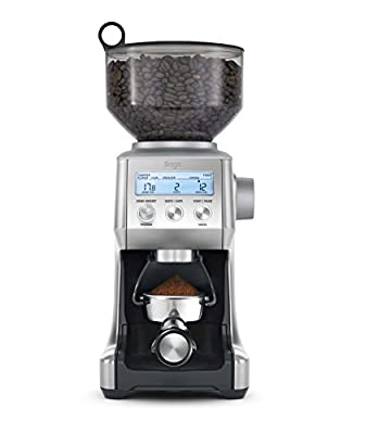 Sage by Heston Blumenthal BCG820BSSUK the Smart Grinder Pro Coffee Grinder from Sage by Heston Blumenthal