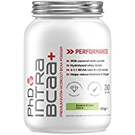 PhD Nutrition Intra BCAA+ Supplement, Coconut and Lime, 450g