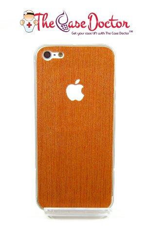 tcd-for-apple-iphone-4-4s-full-body-medium-walnut-wood-design-vinyl-decal-sticker-skin-sticker-adhes