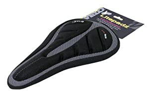 Velo 137660 Lite Tech Saddle Cover - Black by Velo