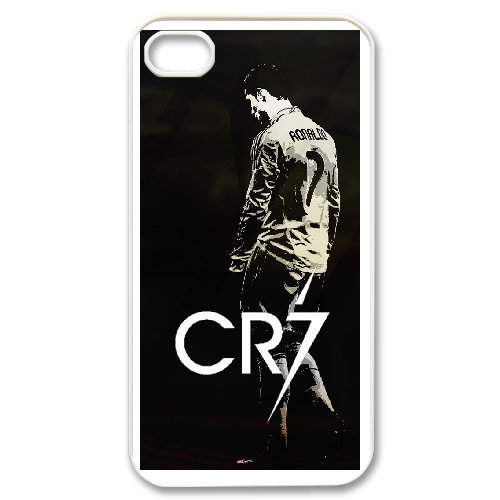 Cristiano Ronaldo Phone Case And One Free Tempered-Glass Screen Protector For iPhone 4,4S T127936