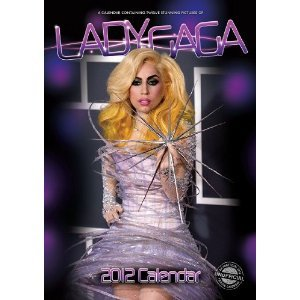 Lady Gaga 2012 A3 Calendar - by Red Star