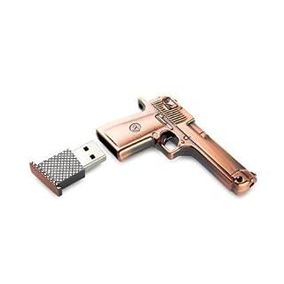 Asone 8GB Metal Revolver Gun Novelty USB Flash Drive/Memory Stick/Pen/Gift/Present