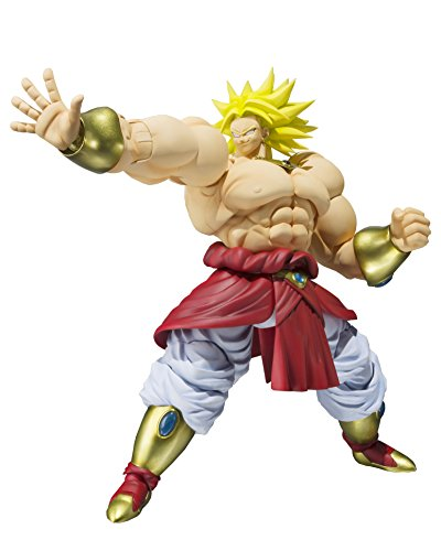 Bandai Tamashii Nations SH Figuarts Broly Dragon Ball Z Action Figure