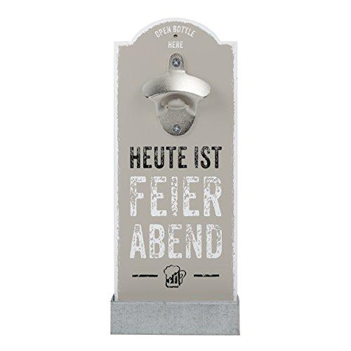 Contento 866352 Wand-Flaschenöffner
