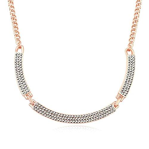 Daesar Schmuck Damenkette Vergoldet Lächeln Halsketten Zirkonia Anhänger Halskette für (Kostüme Orca)