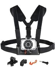 Easypix GoXtreme Accessory Harnais universel avec sangle ventrale pour Caméra sport
