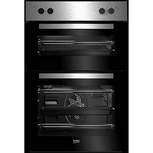41vIUOSfLiL. SS500  - Beko BRDF21000X A/A Rated Built-In Electric Double Oven - Stainless Steel