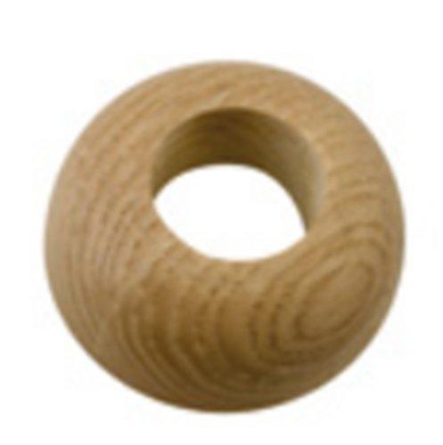 Echtholz Eiche hell Rosetten für Heizungsrohre bei Fertigparkett 20x50mm 6 Stück