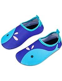 Kinder Badeschuhe Wasserschuhe Strandschuhe Schwimmschuhe Aquaschuhe Surfschuhe Barfuss Schuh für Jungen Mädchen Kleinkind Beach Pool