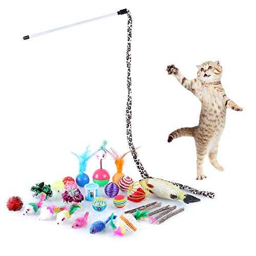 Zoom IMG-2 pedy giocattoli per gatti 30