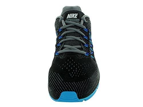 Nike  Air Zoom Vomero 10,  Herren Laufschuhe Schwarz / Blau / Grau (Cool Grey / Weiß-Black-Bl Lgn)