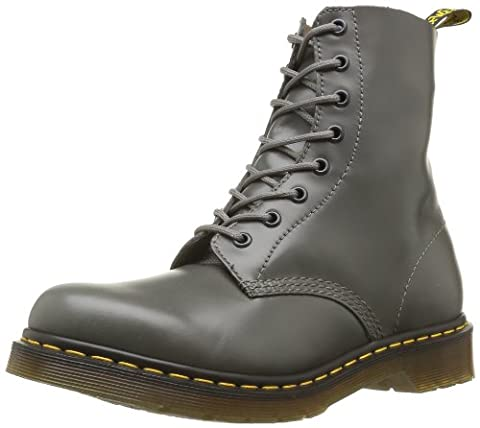 Dr. Martens PASCAL Buttero GREY, Damen Bootsschuhe, Grau (Grey), 36 EU (3 Damen UK)