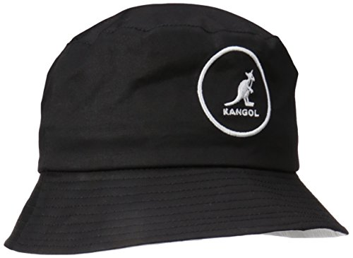 Kangol Unisex Fischerhut Cotton Bucket, Schwarz (Black Black), Large