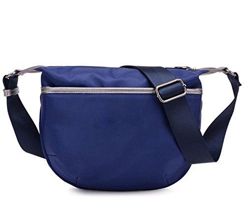 Borse A Tracolla Messenger Borse Multitasche Crossbody Impermeabile Borse Blue