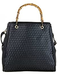 ladies new celebrity style lovely patch Jewel fashion studded beads black crocodile patent skin hand Shoulder Bag GIFT IDEA