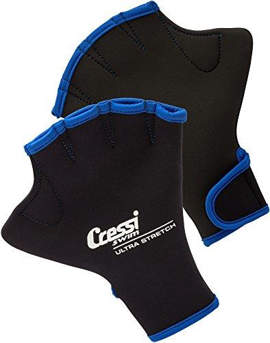 Cressi UnisexErwachsene Swim Gloves Schwimmhandschuhe, Schwarz, Medium