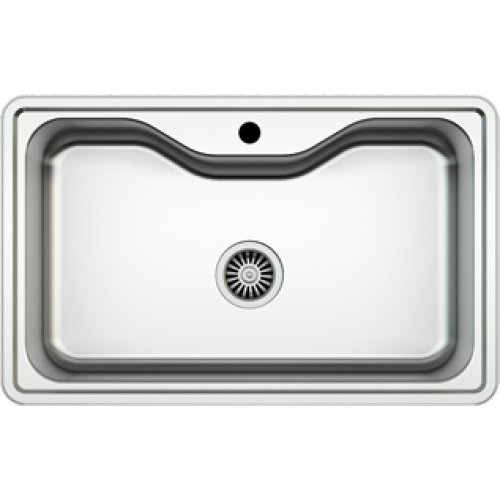 Preisvergleich Produktbild Edelstahl Einbauspüle I Küchenspüle / Spülbecken MIZZO Sino 600 I Edelstahlspüle/ spüle 600mm x 500mm