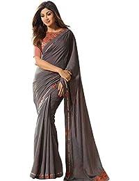 75cd80a85f Greys Women's Sarees: Buy Greys Women's Sarees online at best prices ...