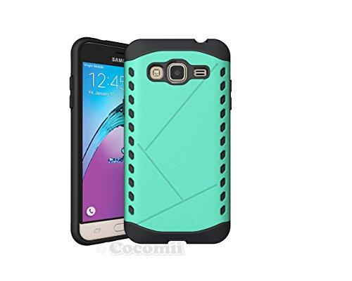 Cocomii Paladin Armor Galaxy J3 2016/J3 V/J3 Pro/Amp Prime Hülle NEU [Strapazierfähig] Taktisch Griff Schmale Passform Stoßfest [Heer Verteidiger] Case Schutzhülle for Samsung Galaxy J3 2016 (P.Green) Amp Cell