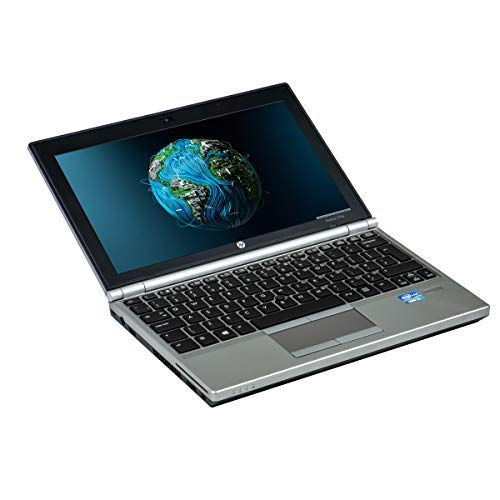 HP Elitebook 2170P Intel Core i5-3427U 4GB DDR3 320GB senza DVD TFT 12in 1280x800 WXGA, Webcam, Bluetooth Windows 10 Home(Ricondizionato)