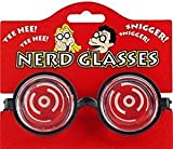 Novelty Joke 'Nerd' Glasses (accesorio de disfraz)
