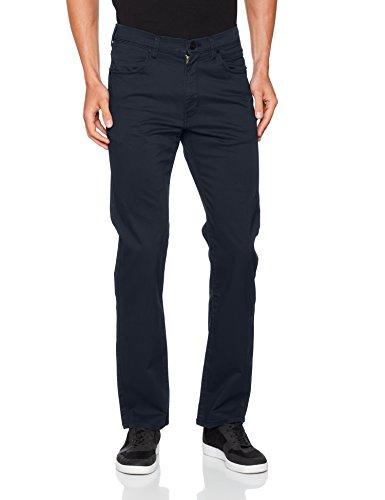 Wrangler Herren Straight Jeans Arizona Blau (Navy 14)