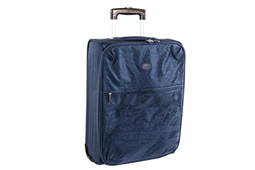 Valigia trolley semirigido SWISH JEANS blu mini bagaglio ryanair S70