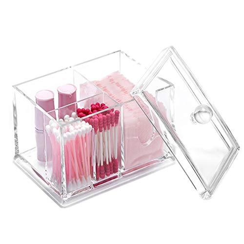 Boîte de Rangement Cosmétique Transparente en Acrylique Transparente Pour Organisateur de Maquillage pour le Rouge À Lèvres, les Pinceaux, le Support de Présentoir
