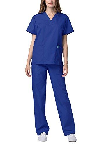 Herren-Schrubb-Set – Medizinische Uniform mit Oberteil und Hose 701_M Color RYL | Talla: M - 3