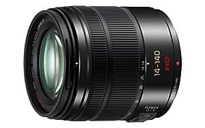 Panasonic Lumix G Zoom Ultra Obiettivo Telecompatto, 14-140 mm, F3.5-5.6, Nero