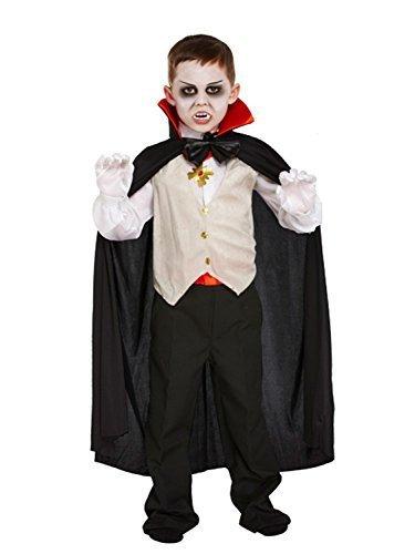 �m für Kinder - Halloween-Kostüm - Größe M (Dracula-kostüme Frauen)