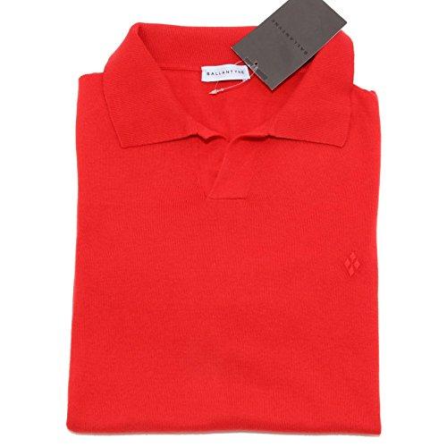 44082 polo BALLANTYNE manica corta maglia uomo sweater men [52]