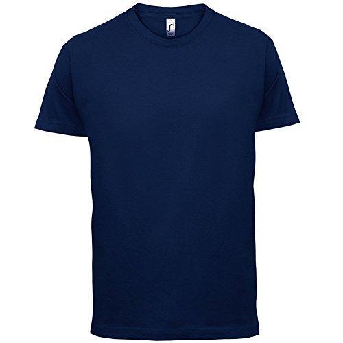 pole-fitness-makes-me-happy-homme-t-shirt-bleu-marine-xl