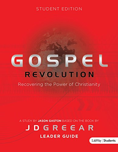 Gospel Revolution - Student: Leader Guide PDF Books